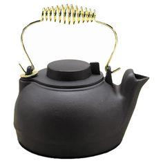 cast iron grandmother kettle