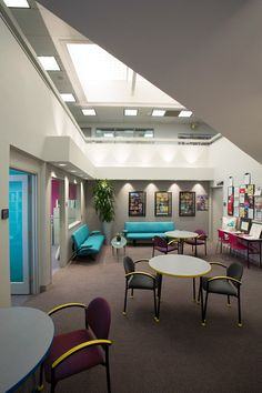 """This is the """"Atrium"""" great place to collaborate at idi"""