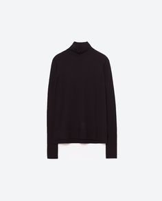 Image 8 of TURTLE NECK SWEATER from Zara