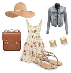 """""""Flowerpower"""" by nickfashion00 on Polyvore featuring LE3NO, Jarlo, Accessorize, Eugenia Kim, The Cambridge Satchel Company and Palm Beach Jewelry"""