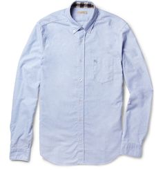 Burberry Brit Slim-Fit Cotton Oxford Shirt | MR PORTER