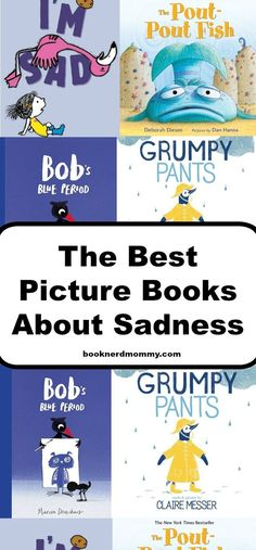 The Best Picture Books for Kids About Sadness · Book Nerd Mommy Social Skills Activities, Therapy Activities, Learning Skills, Skills To Learn, Life Skills, Life Lessons, Kids Lighting, Feelings And Emotions, Children's Literature