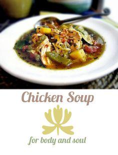 Gluten-Free Goddess Recipes: Gluten-Free Chicken Soup for Body + Soul