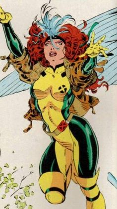 X-Men — Rogue Rogue was my favorite when I was little, because she was sassy, pretty, and didn't take sh!t from nobody (poor grammar intended).