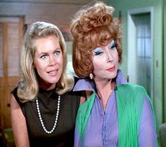 elizabeth montgomery | Elizabeth Montgomery Samantha and Endora