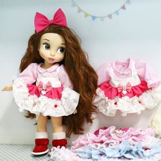 Doll clothes for Disney Animators' by RabbitinthemoonThai on Etsy
