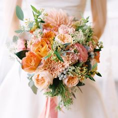 """""""#hollyish photographed by @abbyjiu this bouquet was designed for the sister of @witweddings. So much fun!!!"""""""