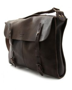Bleu de Chauffe x Menlook limited-edition leather bag - $489.80