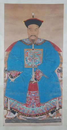 CHINESE ANSESTOR SCROLLS | 437: Anonymous, Chinese ancestor painting : Lot 437