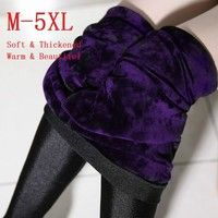 Wish | Portuguese Super Soft Velvet Luster Leggings High Quality Thickened Pants Tights Plus Size