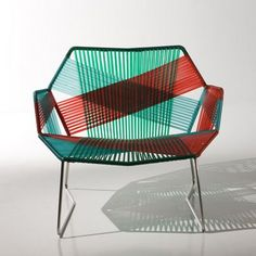 Patricia Urquiola: Tropicalia chair  - beautiful and graphic!