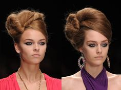 runway hair | HAIR & NOW: Spring Hair Trends'11 | Fashion And You - Blog