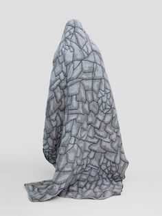 Grey Hide Blanket by Nienke Hoogvliet for TextielMuseum Tilburg for Shop with global insured delivery at Pamono. Textiles, Unique Home Decor, Merino Wool Blanket, Textile Design, Vulnerability, Home Art, Contemporary Design, Museum, Studio