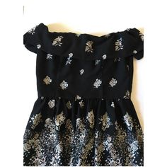 Abercrombie & Fitch off the shoulder floral dress Brand new Abercrombie & Fitch Dresses Mini