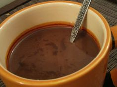 With a velvety smooth texture and a rich, indulgently decadent chocolate taste, this is the best hot chocolate you will ever taste. Hot Chocolate Images, Vegan Hot Chocolate, Hot Chocolate Recipes, Decadent Chocolate, Vegetarian Options, Vegan Vegetarian, Vegetarian Recipes, Cooking Recipes, Unsweetened Coconut Milk