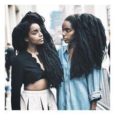 Long Natural Hair, Natural Hair Growth, Natural Hair Styles, Tk Wonder, Wonder Twins, Quann Sisters, Cipriana Quann, Type 4 Hair, Afro Textured Hair