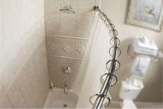 Polished Chrome Shower Curtain Rod