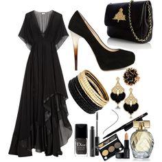 """dark queen"" by marthamiron on Polyvore"