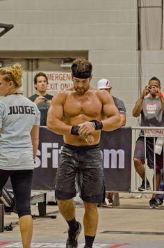 Froning at the 2012 Central East Regionals #CrossFit