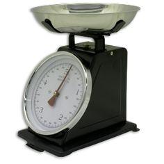 Balance de cuisine 5kg, noire