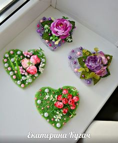 VK is the largest European social network with more than 100 million active users. Felt Crafts, Easter Crafts, Diy And Crafts, Crafts For Kids, Valentine Special, Valentines, Homemade Gifts, Diy Gifts, Clay Magnets
