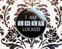 Sherlocked - BBC Sherlock Resin Pin