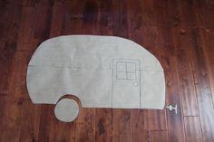 Free Retro Camper Pattern