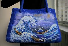 Felted Bag ♡ by Elena Pichugina