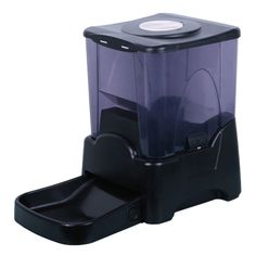 When your busy schedule conflicts with your dog or cat's feedings they're not happy campers. Make sure they stay on a regular schedule even when you're not there with this automatic pet feeder!