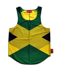 Jamaica Flag Tank Top
