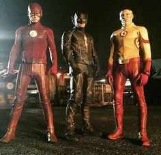 'The Flash', 'The Rival', and 'Kid Flash' on 'The Flash'