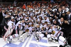 The Chicago Blackhawks win the 2010 Stanley Cup