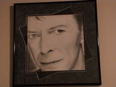 David Bowie drawing
