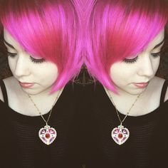 @lysseon blended #CleoRose with #HotHotPink for this lovely pic.