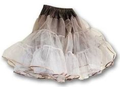 Instructions on eHow Style for how to make a crinoline...because poofy skirts are good.  Very good.  ;)