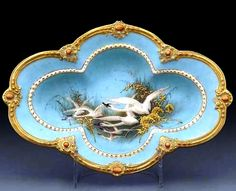 Royal Worcester early 1900s Painted by Charles Baldwyn