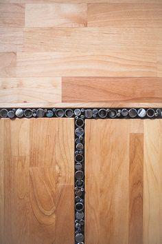 acier et bois recyclée table basse par PecanWorkshop sur Etsy