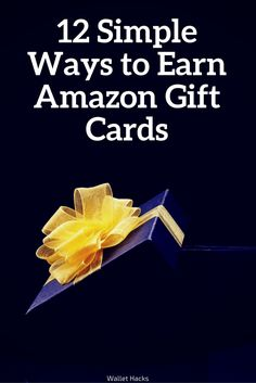 I buy everything on Amazon. Amazon is so popular that many places will give you Amazon gift cards for answering surveys, watching videos, and surfing the web. It's become a very popular way to get paid out. I've listed the 12 most popular sites you can join (all are free) to earn a little extra …