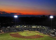 Historic McCormick Field - Home of the South Atlantic League Asheville Tourists ...