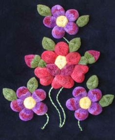 """Inspired by a resident nun who used wool in a type of work called """"punch work"""". Flower designs are tradtional. Tufting is painstaking work that require great patience and a sure, steady hand. Native American Animals, Textile Tapestry, Weaving Textiles, Gourd Art, Loom Weaving, Native Art, Art Classroom, Teaching Art, Flower Designs"""