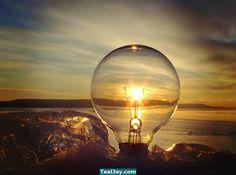 Sunrise in a bulb