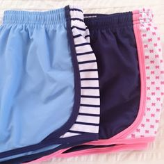 Cute Running Shorts! But Lord knows I don't need anymore of these! I have a pair in every color of the rainbow