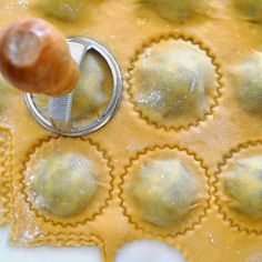 Cooking with Manuela: Homemade Ravioli with Spinach and Ricotta Cheese Cheese Ravioli Filling, Homemade Ravioli Filling, Cheese Ravioli Recipe, Spinach And Ricotta Ravioli, Homemade Pasta, Meat Stuffed Ravioli Recipe, Spinach Ravioli Filling Recipe, Stuffed Pasta, Homemade Breads