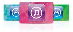 Tarjeta de regalo iTunes  Para comprar en iTunes Store, App Store, iBookstore y Mac App Store.