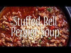 Yum & Yummer | Stuffed Bell Pepper Soup