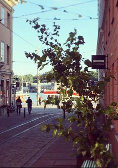 The Tori Quarter Urban Life, Terraces, Helsinki, Brick Wall, Museums, Cosy, Restaurants, Sidewalk, Shops
