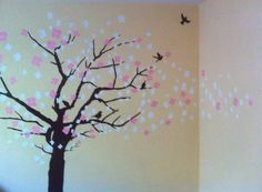 Decoraci n para el cuarto on pinterest pintura wall - Cuartos de bebes decorados ...