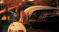 futuristic paintings, sid mead