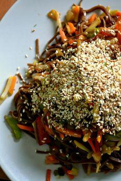 Japchae, Ethnic Recipes, Food, Meals, Yemek, Eten