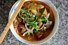 With the help of Grandma and my aunts these past couple of years, I've learned how to prepare almost every noodle soup that I giddily slurped as a child and hungrily craved as an adult. Grandma tau...